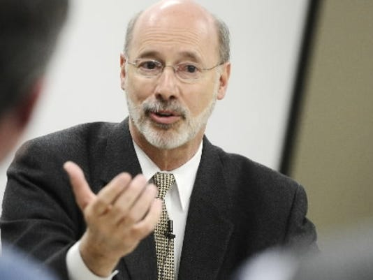 Gov. Tom Wolf deserves credit for voluntarily placing his assets in a blind trust when he became governor.