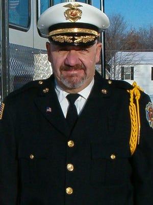Belleville Fire Chief Brad Muller