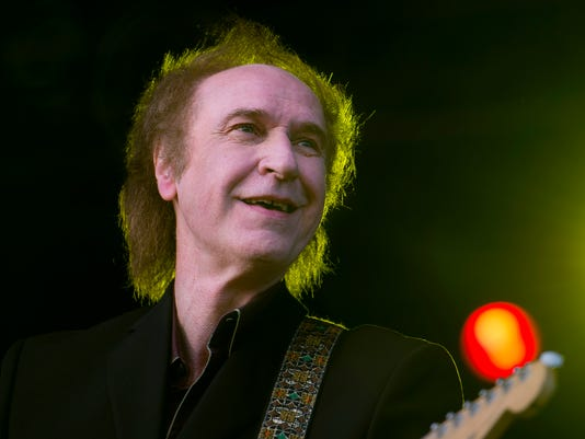 British musician Ray Davies performs dur