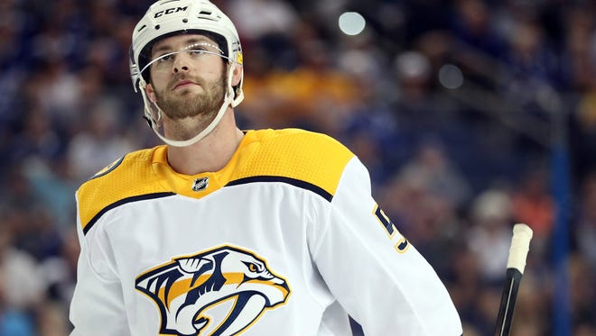 The Nashville Predators' Austin Watson as been suspended for 27 games, the NHL announced Wednesday.