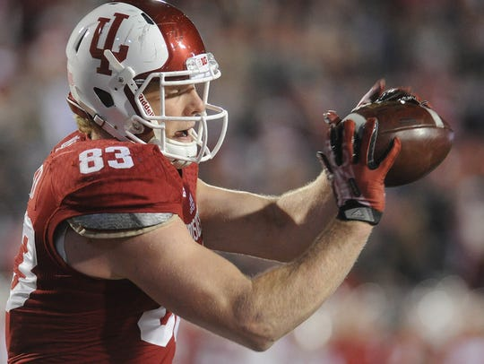 IU tight end Ted Bolser