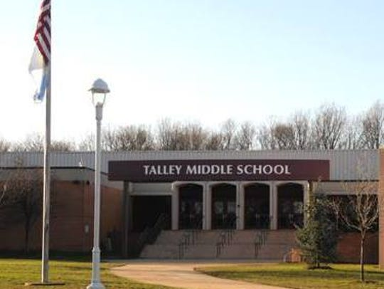 Talley Middle School is apologizing about a controversial