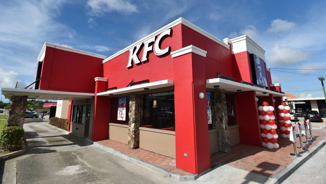 The KFC restaurant in Dededo celebrated its reopening on Sept. 17.