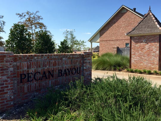 Pecan Bayou is one of the subdivisions that have been
