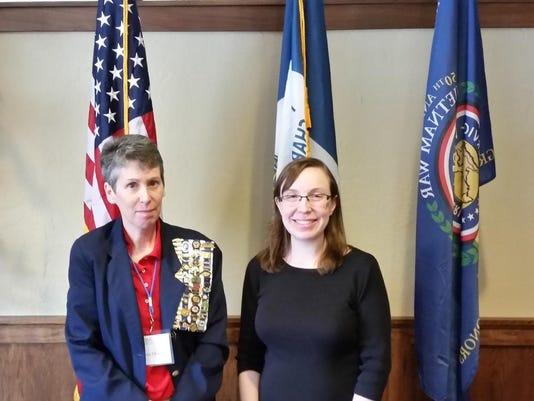 A-Lee Kirsenlohr installation Corresponding Secretary 18 July 2015 2