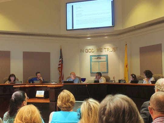 Commissioners approved the purchase of land in the Oasis Mobile Home Park where the Dry Canyon Channel runs through.