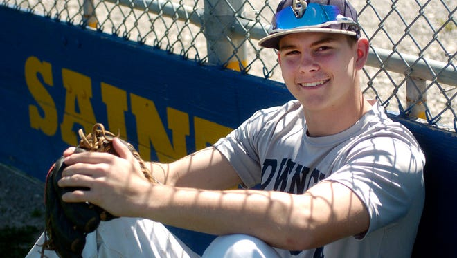 Grant Richardson moved from Bishop Dwenger to Fishers, where the baseball team has welcomed his pitching prowess.