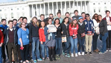 St. Cloud Christian School students and their adult traveling partners are Just Back From Washington, D.C.