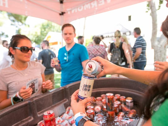 The eighth annual event features more than 250 canned craftbeers from 100 local and national breweries.