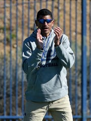 First-year Wolf Pack football coach Jay Norvell.