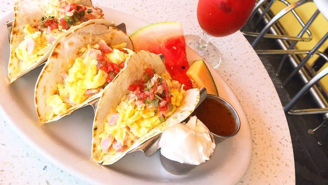 Morning Squeeze in Scottsdale will offer a trio of breakfast tacos for $7 as part of Arizona Breakfast Weekend.