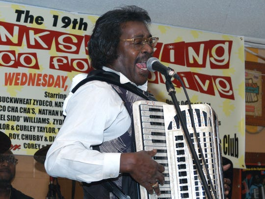 The late Stanley Dural Jr., leader of the band Buckwheat