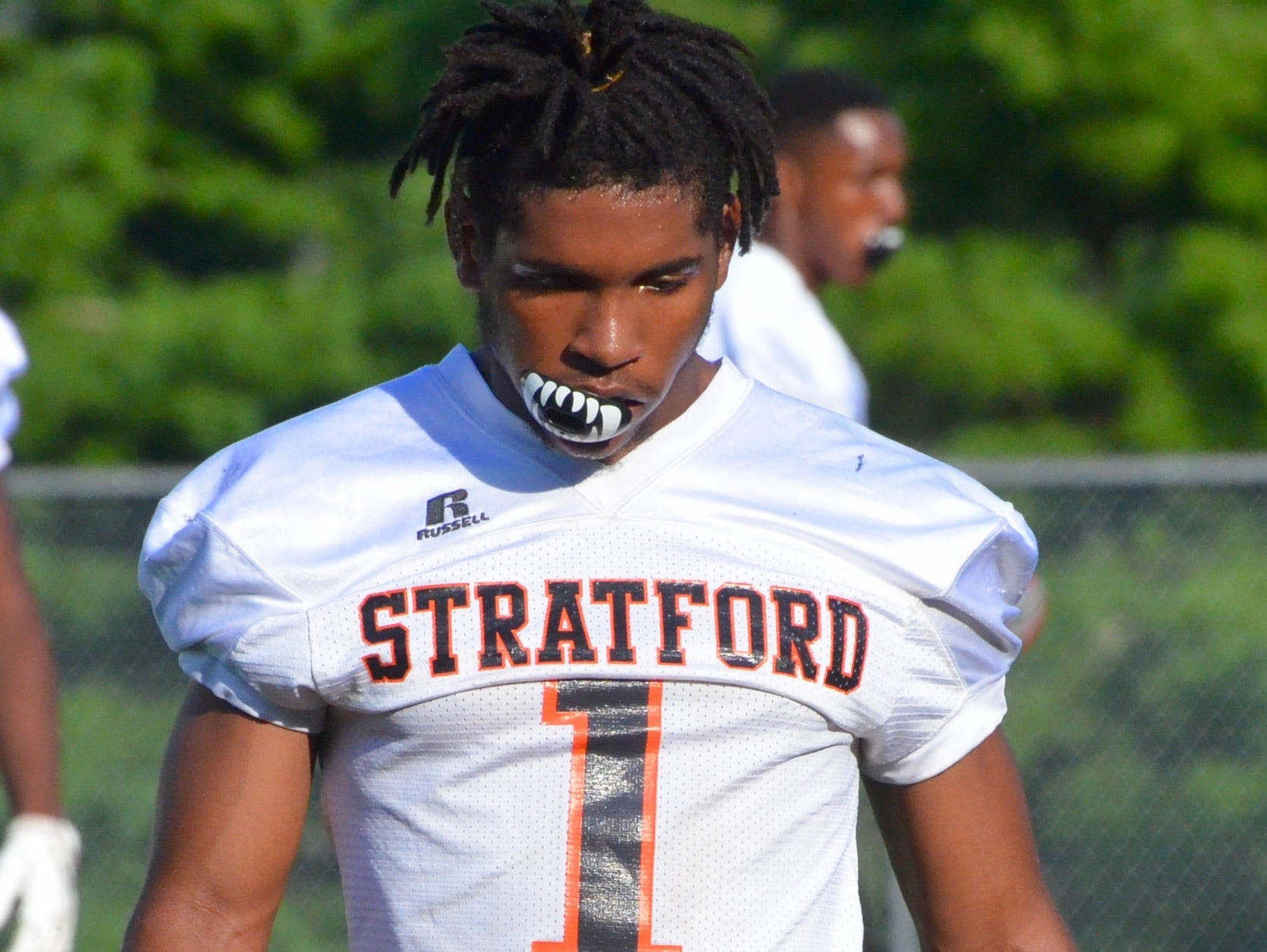 Stratford's T.J. Carter committed to Memphis on Friday.