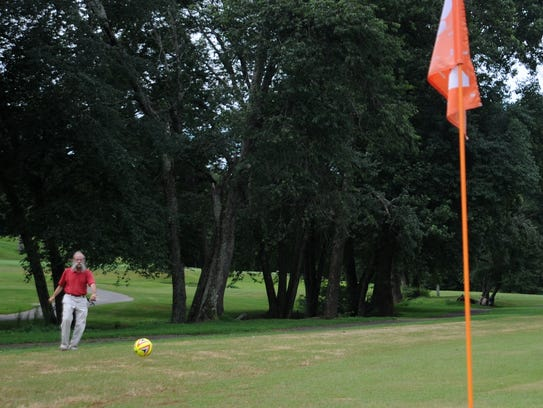 FootGolf largely follows the same general rules as
