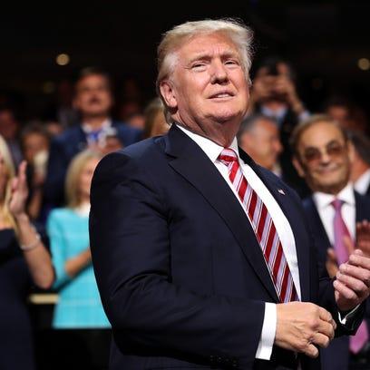 Donald Trump, candidato republicano a la presidencia