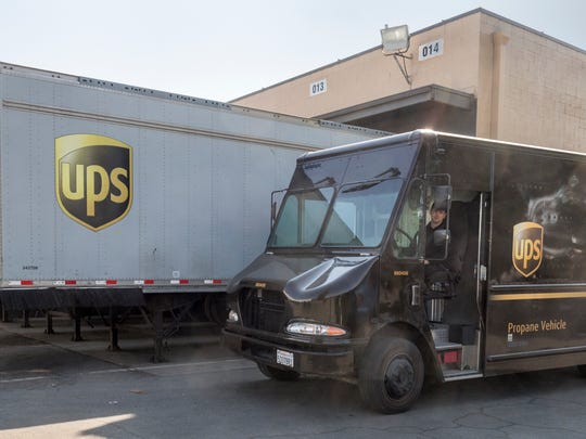 UPS has a customer center on West Goshen Avenue and will open a distribution facility in Visalia industrial Park, a center point in California for the shipping company.