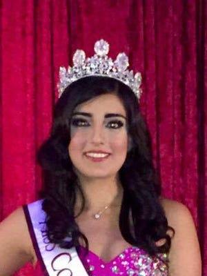Miss Corpus Christi Latina Valeria Barrera was crowned Saturday.