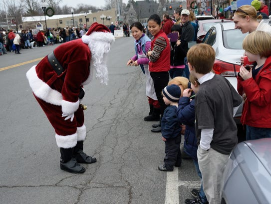 Santa is expected to make a visit during the annual