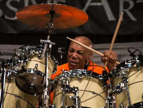 Jazz fusion drummer Billy Cobham and his ensemble will