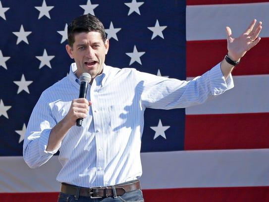 House Speaker Paul Ryan: Ryan is in the cross-hairs