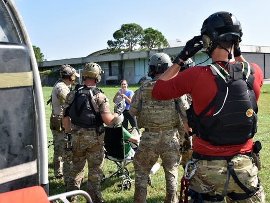 Reserve Airmen save lives after Hurricane Harvey relief effort