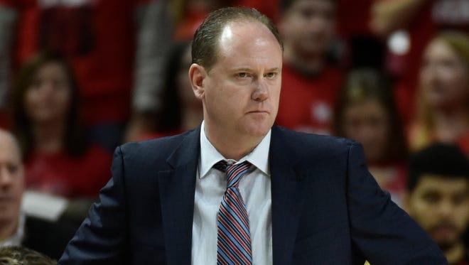 Wisconsin coach Greg Gard