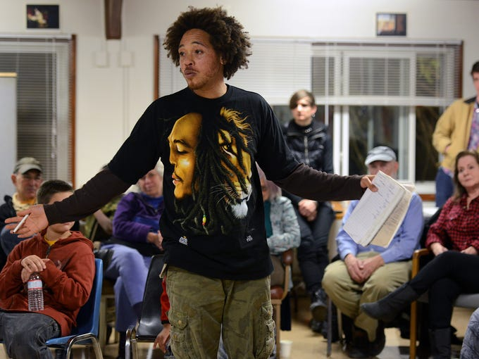 Jonathan Santos, one of the founding members of HoodTalk,