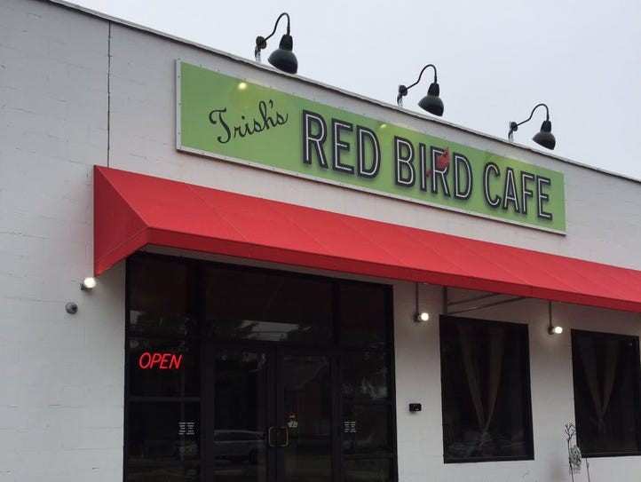 Trish's Red Bird Cafe is located at 696 Walnut Street