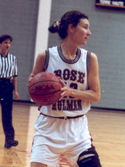 Plainfield's Becky Smith was on Rose-Hulman's original women's hoops team in 1995-96.