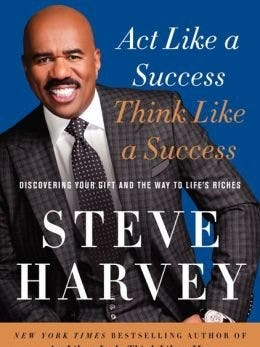"""Steve Harvey's """"Act Like a Success, Think Like a Success"""" is the top-selling nonfiction book."""