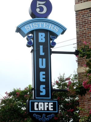 Cecil Johnson owns Five Sisters Blues Cafe in the Belmont-DeVilliers neighborhood. Ben Twingley/btwingley@pnj.com Cecil Johnson, owner of Five Sisters Blues Cafe in the Belmont and Devilliers neighborhood.