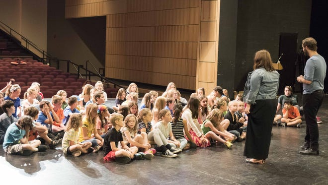 The Missoula Children's Theater opened its Pacific Northwest tour in Silverton on June 15, 2015.