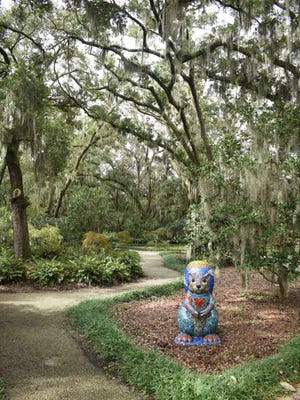 Airlie Gardens will showcase Squirrels! as its eighth annual Art Exhibit, Aug. 22-Nov. 30.