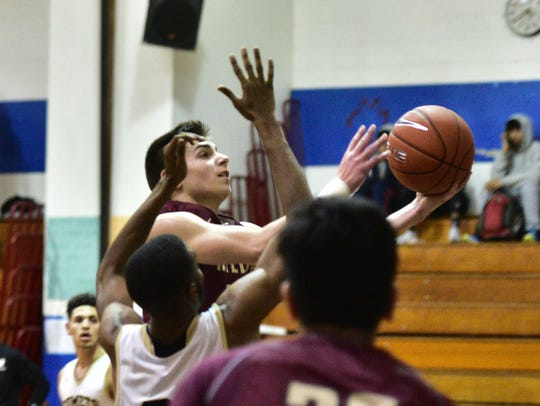 Joey Belli scored 10 points for Wayne Hills against