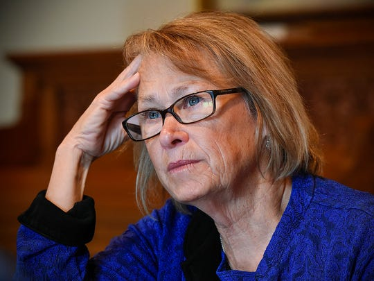 Patty Wetterling, shown in this 2016 file photo, testified Friday in Jared Scheierl's lawsuit against Danny Heinrich.