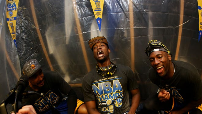 Harrison Barnes Had First Sip Of Alcohol During Nba Title Celebration