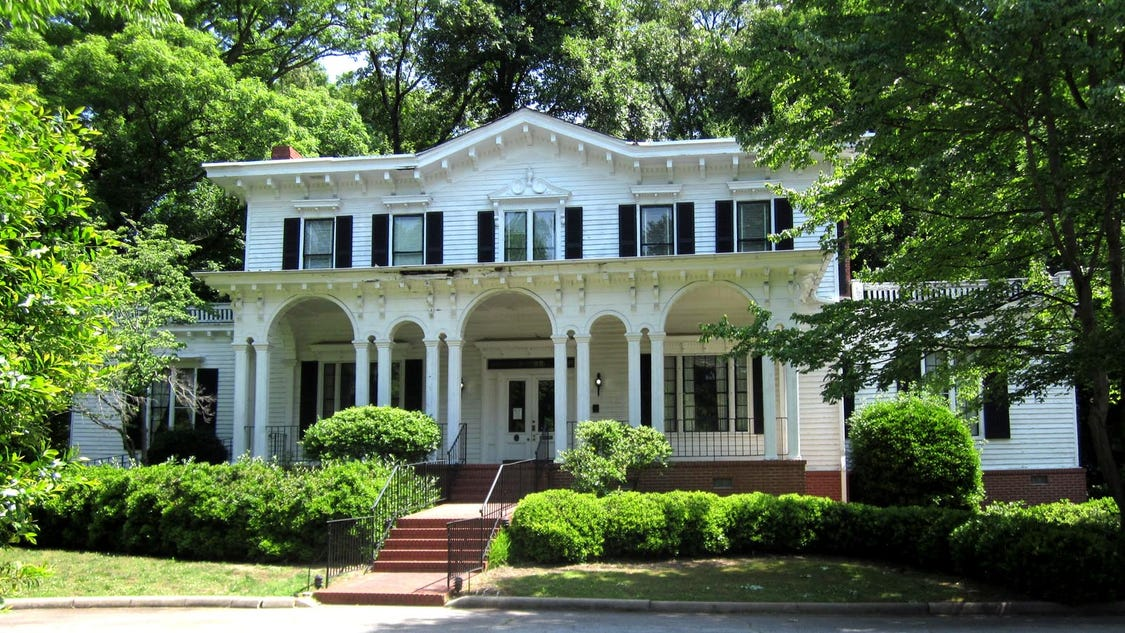 Judy bainbridge historic beattie house looking for for Greenville house