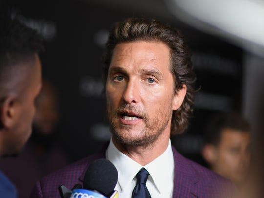 Matthew McConaughey: Nov. 4, 1969.