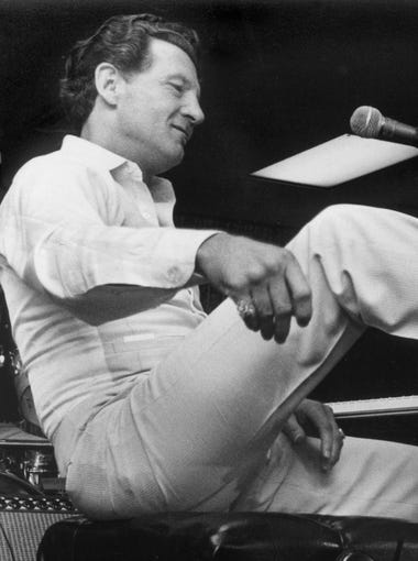 Jerry Lee Lewis in a photograph dated August 16, 1980.