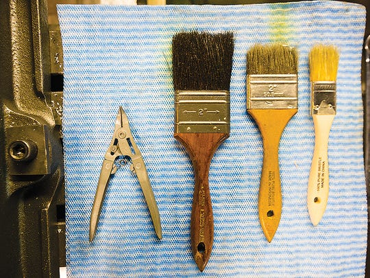 Tools at Rochester Makerspace.