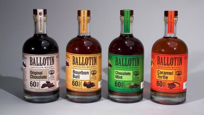 Ballotin Chocolate Whiskey.