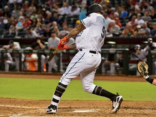 MLB: Colorado Rockies at Arizona Diamondbacks