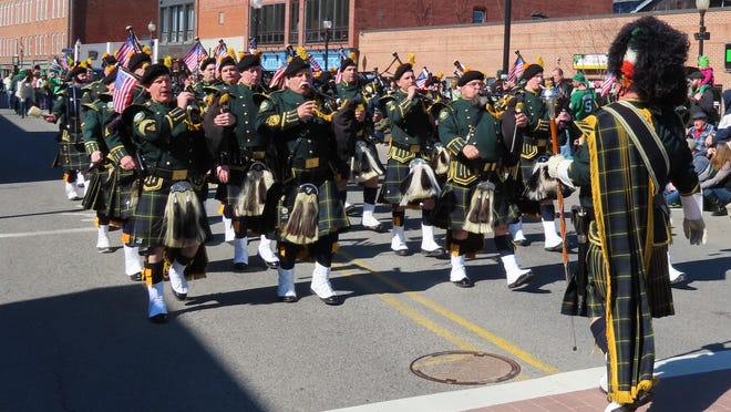 The Hudson Valley Regional Police Pipes and Drums won the Michael McCarthy Memorial Grand Marshal trophy.