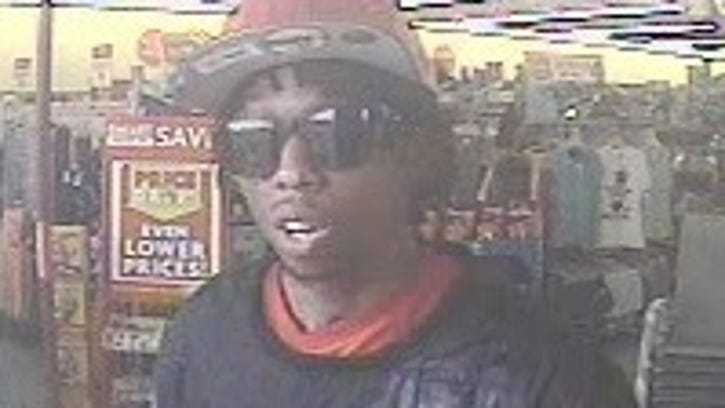 A suspect wanted in three Family Dollar robberies was captured on surveillance footage.