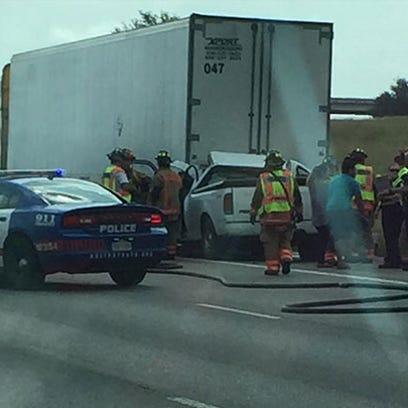 Fatal crash on I-20 near Little Road in Arlington