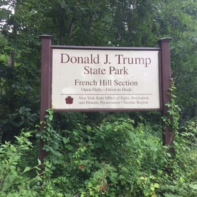 Donald Trump State Park straddles Westchester and Putnam