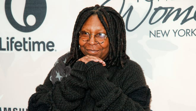In this April 24, 2015, photo, Whoopi Goldberg attends Variety's Power of Women Luncheon at Cipriani Midtown, in New York.