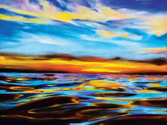 """""""Kissed by the Sun"""" by Anne Chaddock will be on display at the Human Nature Exhibition at the Centers for the Arts Bonita Springs, Visual Arts Campus."""