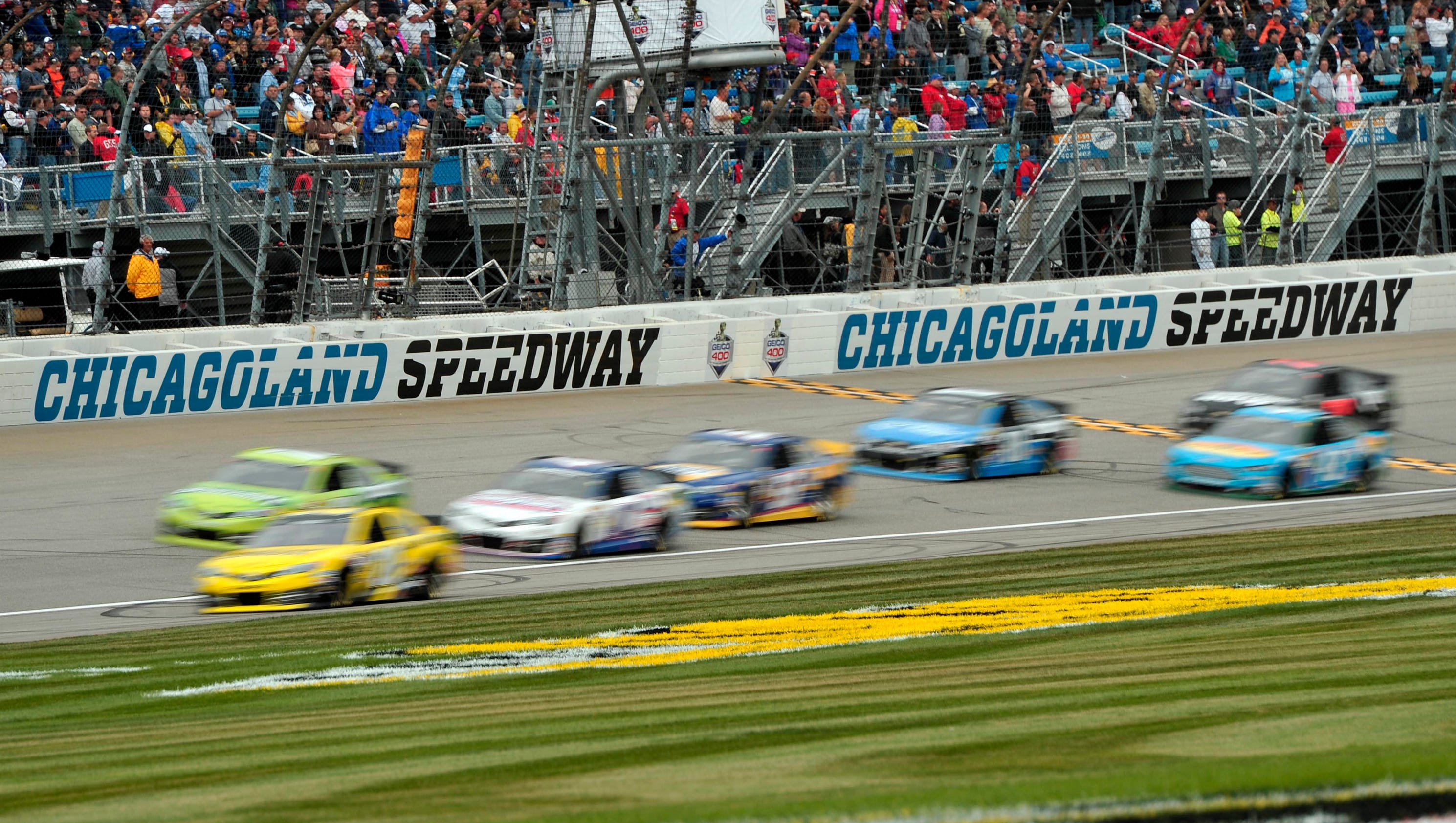 Nascar At Chicago Start Time Lineup Tv Radio Schedule More