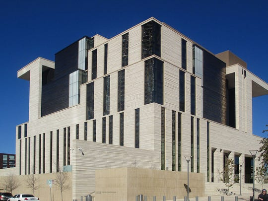 The federal courthouse in Austin, Texas, was built